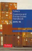 Tolley's Customs and Excise Duties Handbook Set 2015-2016