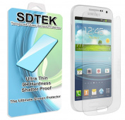 SDTEK Samsung Galaxy S4 Mini Tempered Glass Ultimate Screen Protector Scratch Resistant 9H Hardness