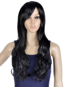 Simplicity Premium Quality Full Length Long Wavy Cosplay / Party Wigs