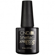 CND Shellac Xpress5 Top Coat, 15ml