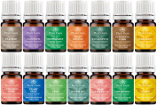 Essential Oil Variety Set- 14 Pack - 100% Pure Therapeutic Grade 5 ml. Set includes-