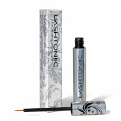 Lashtoniic Brow & Lash Enhancer Serum - Promotes Longer, Thicker Lashes in Just 2 Weeks - Clinically Proven - 4.8mL Bottle - 3 Month's Supply - Applicator Included - Satisfaction Guaranteed