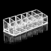 Makeup Cosmetics 12 Lipstick Clear Acrylic Organiser Display Stand Holder Storage Case