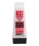 "Original Source Vanilla Milk and Raspberry Shower Gel, 250ml --""Expedited International Delivery by USPS / FedEx """