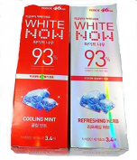 White Now Toothpaste Perioe 46cm Cooling Mint+Refreshing Herb 100g x 4