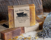 HandMade Goats Milk Soap Scented Bar Bath Moisturising Lavender Lemongrass 150ml Bar