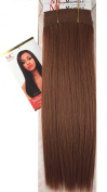 Human Hair Blend Brazilian Hair Texture #30 Auburn 41cm 2 Packs