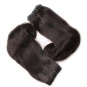 Cbwigs 6a Grade Aunty Funmi Hair Egg Curls Indian Remy Hair Bundles 3pcs 100% Human Hair Weaves for Black Women (14X16X18
