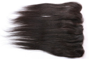 Freyja Hair Brazilian Virgin Hair Silky Full Lace Frontal Closure 13x 4 Human Hair Closure With Baby Hair,Brazilian Straight Hair Top Lace Frontals Closure 20cm - 50cm Naturl Black Bleached Knots