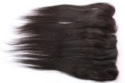 Freyja Hair Brazilian Virgin Hair Silky Full Lace Frontal Closure 13x 4 Human Hair Closure With Baby Hair,Brazilian Straight Hair Top Lace Frontals Closure 20cm - 50cm Naturl Black Bleached Knots