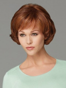 Marian® Sw0405 Fashion Synthetic Short Layered Wavy Wigs for Women Brown with Side Bang + a Wig Cap