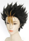 Hmy Cosplay By Haikyuu Nishinoya Yuu Short Anime Wig
