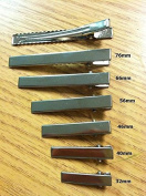 50 Pcs- Flat Alligator Clips- Sizes 32mm---76mm