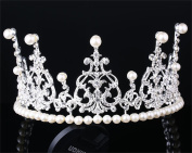 Bridal Headband Elegant Wedding Crown Tiara Headband Accessory, Women