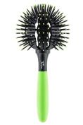 Twirler Ball Brush, Neon Green Large