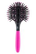 Twirler Ball Brush, Neon Pink Large