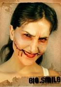 Slashed Mouth Chelsea Smile Fake Scar