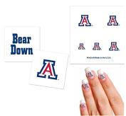 University of Arizona Bears Temporary Tattoo Fan Pack