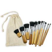 Makeup Brush Set Foundation Brush, Contour Brush, Flat Brush, Eye Brush, Best Gift