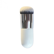 Beety 1PCS Bold Handle Large Round Head Makeup Brushes/foundation Brush/blush Brush/buffer Brush/powder Brush/bronzer Brush/bb Cream Brush/beauty Cosmetics