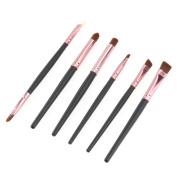 Kolight® DIY Professional 6pcs Eye Shadow Eyeliner Eyebrow Nose Cosmetic Makeup Brushes Sets