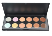 LEFV™ Concealer Palette 12 Colours Face Makeup Cream Professional Salon Party Camouflage Contour Foundation Contouring Cosmetic Set