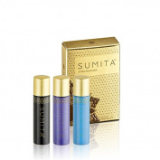 Sumita Mini Mascara (3 PACK)- Black, Sky Blue, Lavender
