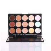 New 15 Colours Cosmetics Eclipse Concealer Camouflage Makeup Palette