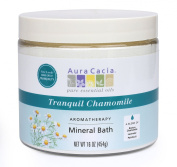 Aura Cacia Aromatherapy Mineral Bath, Tranquil Chamomile, 470ml jar