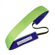 Sweaty Bands Fitness Headband - Rock Solid Neon Yellow- 2.2cm