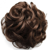 PRETTYSHOP BUN Up Do Hair Piece Hair Ribbon Ponytail Extensions Draw String Scrunchy Scrunchie Curly or Messy Different Colours