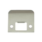Deltana SPE200 5.1cm x 5.1cm - 0.6cm Extended Lip Strike Plate, Satin Nickel