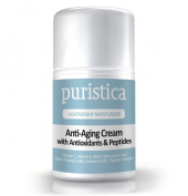 Eye Cream Plus Anti-Ageing Moisturiser for Treatment of Wrinkles, Puffiness and Dark Circles - Puristica 50ml