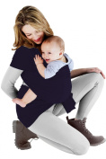 BodyBudd™ Infant Baby Wraps, Baby Carriers Cuddle Your Baby Soft Navy Blue