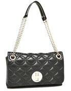 Kate Spade Cynthia Astor Court Quilted Leather Black WKRU 2650