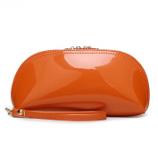 H.Tavel Lady Woman Small Patent Leather Evening Party Clutch Organiser Bag Scratch Wallets Purse