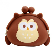 Bluelans® Popular Cute Owl Girls Wallet Clutch Change Purse Key Coins Bag Mini Handbag Pouch