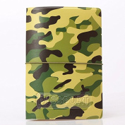 Schoolsupplies Fashion Pu Leather Passport Holder Cover Travel Card Bag Camouflage