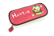vanki Filexec Products Hootie The Owl Pencil Box, Red