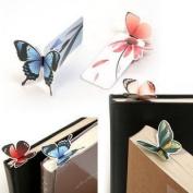 vanki Elife 20 pcs Butterfly Bookmark Decoration