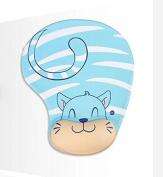 vanki Ergonomic Design Memory Foam Mouse Pad Gel Mouse Pad/Wrist Rest