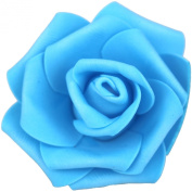 Lightingsky 7cm DIY Real Touch 3D Artificial Foam Rose Head Without Stem for Wedding Party Home Decoration