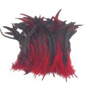 25cm - 33cm Rooster Feather Feather Festival Party Hair Decoration Pack of 100