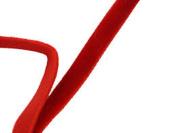 0.6cm Velvet Ribbon 25 Yard Roll Red Colour
