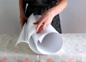 Adhesive Pressure Sensitive Styrene Sheet for Making DIY Lampshades in a Pre-cut Length - 39cm High X 460cm Wide