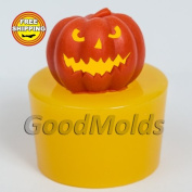 Scary Pumpkin Soap Mould Food-grade Silicone Moulds Mould Halloween Mould for Soap.