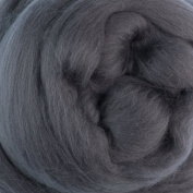 Extra Fine Merino Roving Assorted Grey and Black Colours for Felting