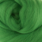Extra Fine Merino Roving Assorted Green Colours for Felting