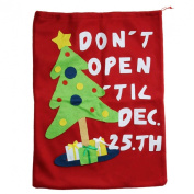 Doinshop Craft Gift Bags Christmas Wrap Bags Gift Sack with Straps