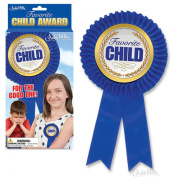Favourite Child Award - Blue Ribbon - Funny Gag Gift - Christmas or Birthday Idea - New Novelty